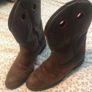 Ariat 4LR Boots Brown 2.5 Leather Cowgirl.